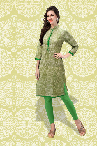 Printed Cotton Kurti in  Delhi Gate (Rr)