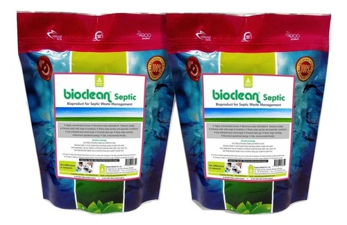 Bioclean Septic - Organic Solution for Septic Tanks to Degrade Sewage Waste