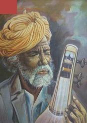 Musician Painting in   Pushkar