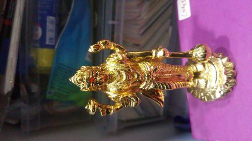 Gold Plated Satynarayan Idol