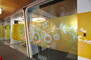 Frosted Film Design Wall Graphics