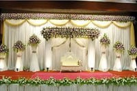 Stage Decoration Service With Flowers