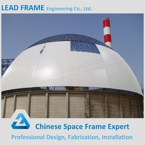 Light Weight Space Frame Steel Dome Structure