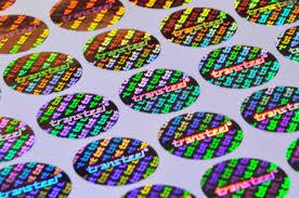 3D Hologram Label