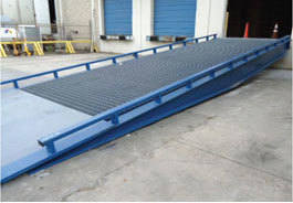 High Capacity Steel Ramp