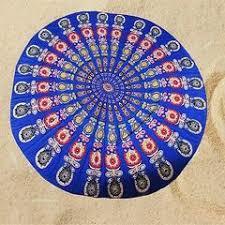 Yoga Printed Mandala Tapestry in  Vaishali Nagar