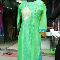 Ladies Green Designer Kurties