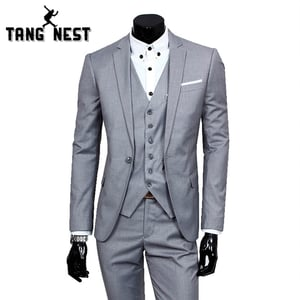 Popular Two Piece Men Casual Suits