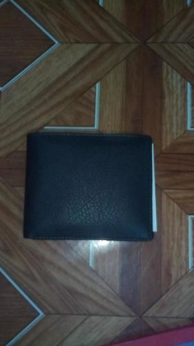 Men's Leather Black Wallet