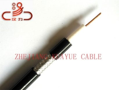 Pe Jacket 75 Ohm Rg6 Coaxial Audio Cable