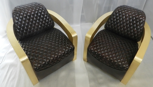 Tomcat Leather Sofa Chair Set Of 2