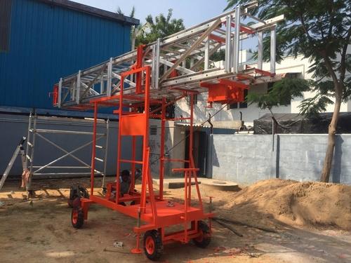Aluminium Tiltable Mobile Tower Ladders