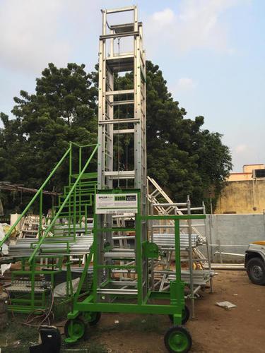 Tiltable Tower Ladders