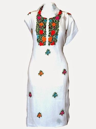 Hand Embroidery Kurtis