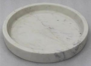 Sphere White Marble Trays