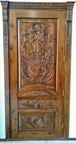 Seasoned Teak Wood Door At Best Price In New Delhi Delhi