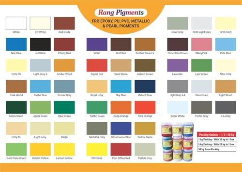 Epoxy Pigments in   Palghar (W)