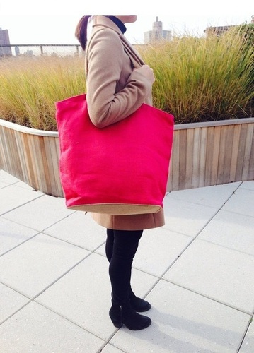 Fashionable Jute Shopping Carry Bag