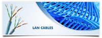 UNSHIELDED TWISTED PAIR (UTP) CAT 5 - 100 MHz LAN CABLES
