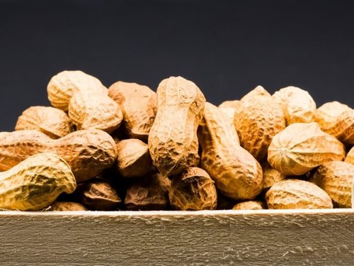 Raw Groundnut With Shell Broken (%): 1% To 2%
