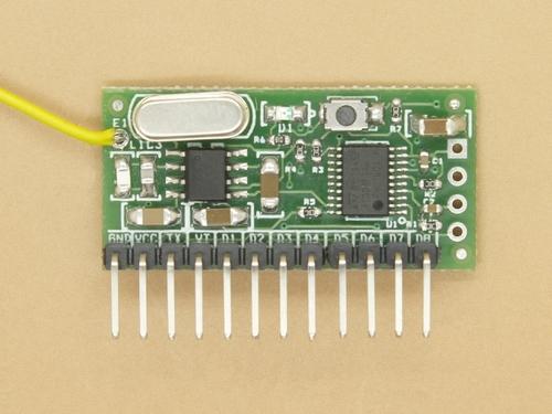 Rf Remote Receiver/Decoder Module