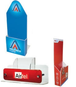 Sunboard And Acrylic Dispensers