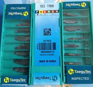 Taegutec TDC3 TT9030 Carbide Inserts