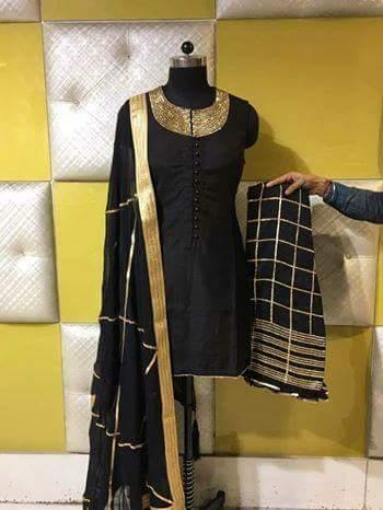 5c1b2b8cb1 Durable Punjabi Salwar Suit in Jalandhar, Punjab - Desi Look ...