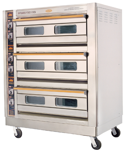 3-Layer Electric Oven