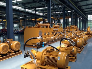 Hydraulic System For The Casting Machines