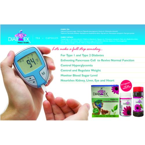 Anti Diabetes Herbal Capsules Tea