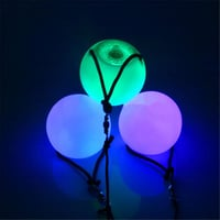 Color Changing LED Flashing Poi Ball
