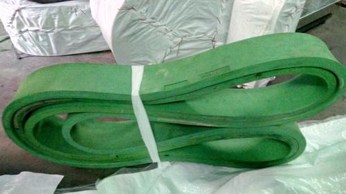 Green Caterpillar Belts - Mazcon Rubber Industries, 40