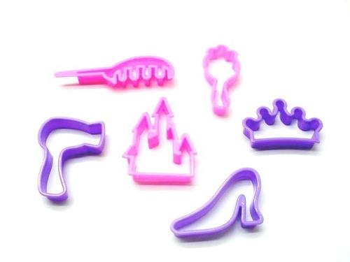 Little Princess Plasticine Molds