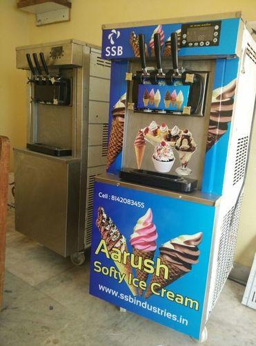 Table Top Softy Ice Cream Machine