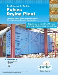 Pulses Drying Plant