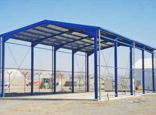 Pre Fab Structure Fabrication
