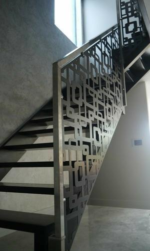 CNC Metal Stair Railings