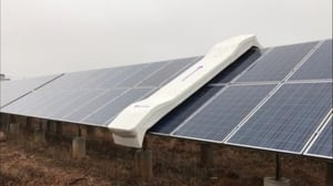 Automatic Solar Panel Cleaning System
