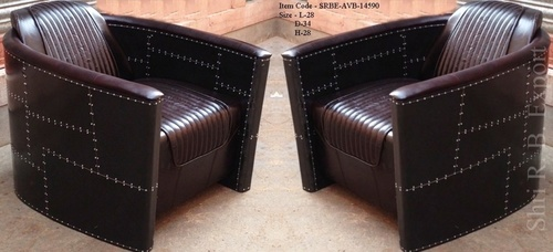 Aviator Black Sofa Chair