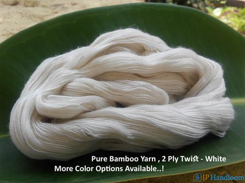 Pure Bamboo 2 Ply Yarn