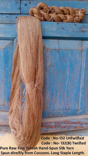 Twisted Reeled Tussah Silk Yarn