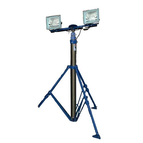 4.2m Tripod Mobile Lighting Tower 300w Metal Lamps