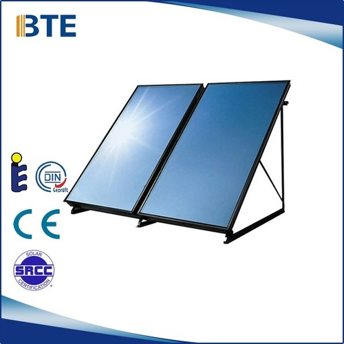 High Thermal Efficiency Flat Plate Solar Collector Certifications: Ce Srcc Soalr Keymark