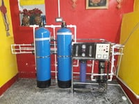 FRP RO Purifier Plant