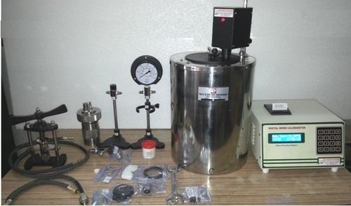 Microprocessor Based Automatic Bomb Calorimeters in  Bawana