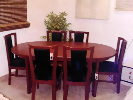 Modern Design Round Dining Table Set