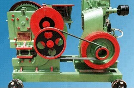 Shearing Machine For Light Rods And Angle