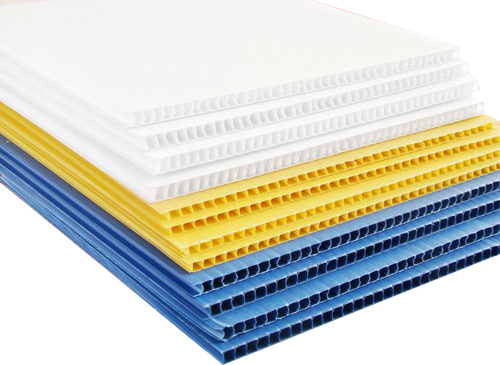 5 Ply Layer Plastic Corrugated Sheets