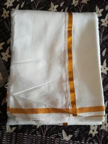 Jari Border Cotton Dhoti